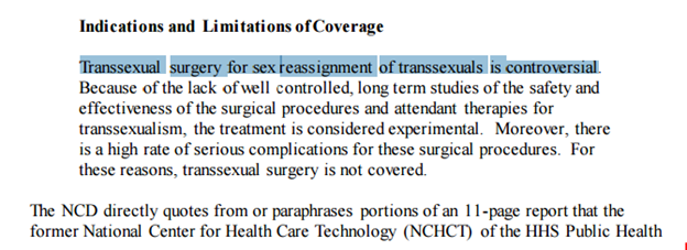Radfem transsexual surgery